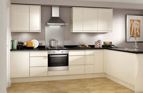 L-Shape Modular Kitchen Design