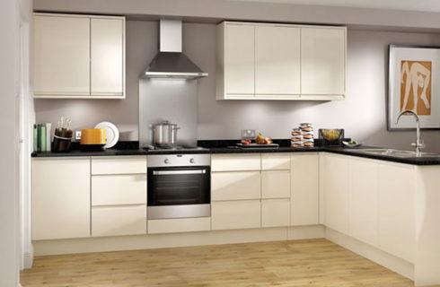 L-Shape Modular Kitchen Design