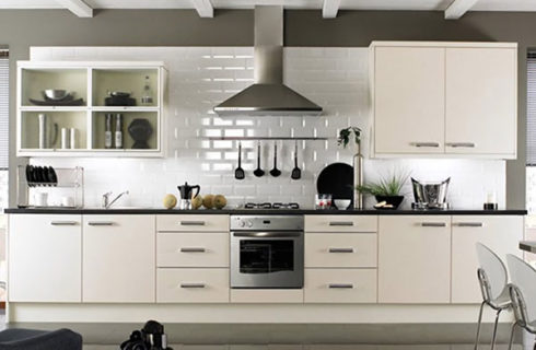 Single Wall Modular Kitchen Design