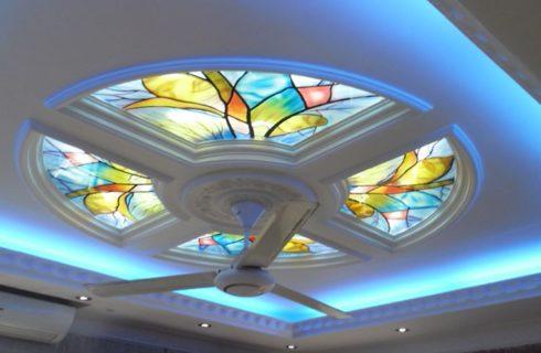 Glass False Ceiling Design