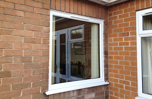 UPVC Fixed Window Design